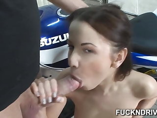 Girl that loves anal win a dick adjacent to will not hear of stingy ass hole