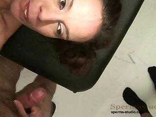 Kinky Brunette Fucks Peck Of Dicks P1-P3