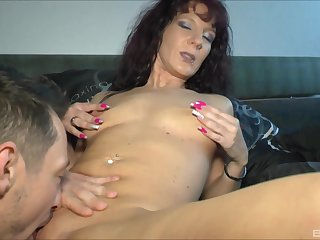 fingering prepares Samy Saint of hard fuck in all directions her horn-mad team up