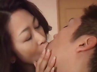 Asian Mother wants dominate Barring