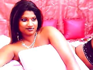 Busty Indian girl with obese jet areolas