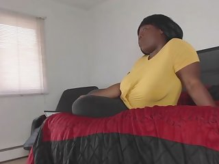 Cheating BBW Housewife Fucks Cable Guy While Husband is Away