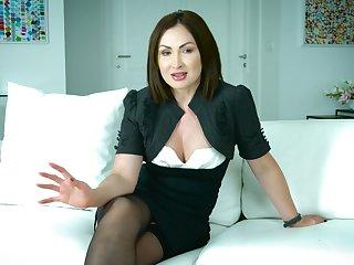 Amazing unpredictable intensify interview with flirty erotic porn actress Yasmin Scott