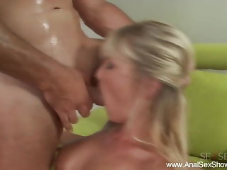Blonde Newborn Digs The Deep Anal