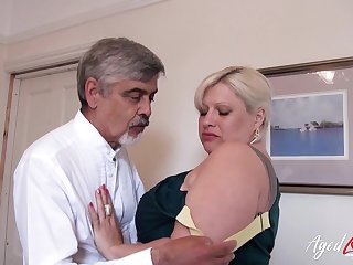 AgedLovE Mature With respect to Big Tits Got Rough Fuck