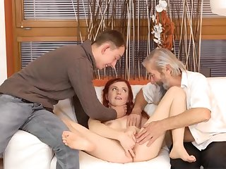 Real mom and boss's daughter eat pussy Unanticipated
