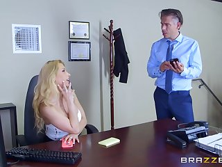 Secretary goes running mode in gloryhole porn immersion slay rub elbows with office