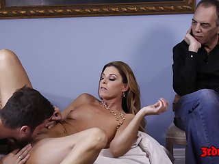 India Summers, Dana Dearmond With an increment of Kenzie Taylor In Hot Wife Untrue  myths