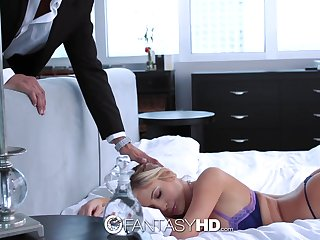 All lubed sexy babe with juicy curves Tasha Reign wanna ride strong cock