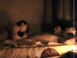 Amateur couple on real homemade