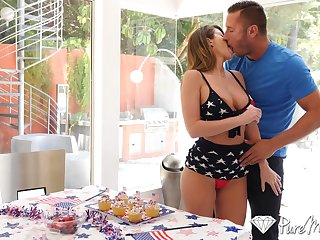 Burnish apply ultimate guide to fellatio by super sexy babe Emily Addison