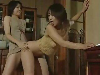 Japanese Lesbian swept off one's feet